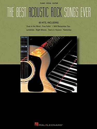 9780634059087 The Best Acoustic Rock Songs Ever Piano Vocal Guitar