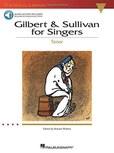 9780634060151: Gilbert & Sullivan for Singers Tenor Bk/online audio - The Vocal Library