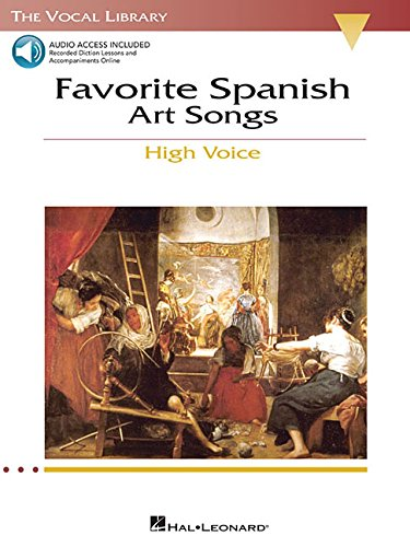 9780634060281: Favorite Spanish Art Songs: The Vocal Library High Voice