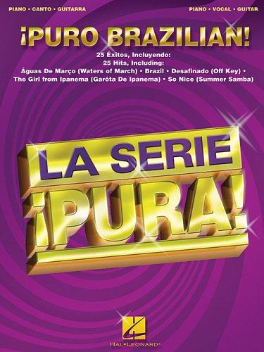 9780634060748: Puro brazilian! piano, voix, guitare (La Serie Pura!)