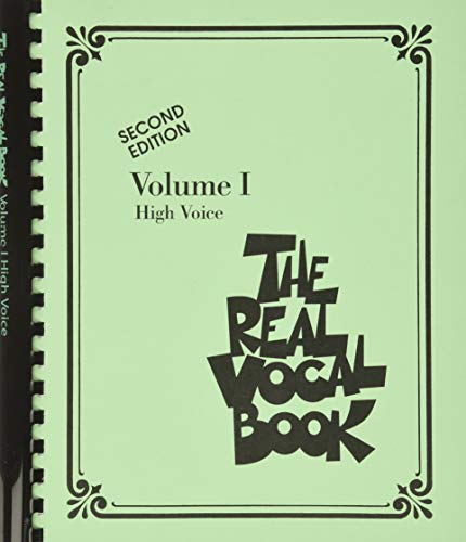 9780634060809: The Real Vocal Book - Volume 1 High voice -Second Edition