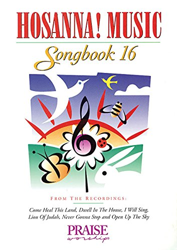 9780634060946: Hosanna Music Songbook: 16
