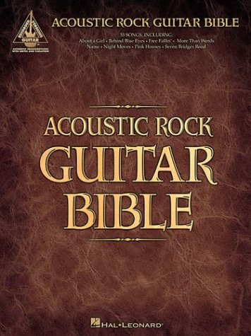 9780634061127: Acoustic Rock Guitar Bible (Recorded Guitar Versions)