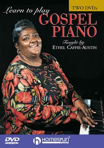 LEARN TO PLAY GOSPEL PIANO COMPLETE 2 DVD'S Format: DvdRom