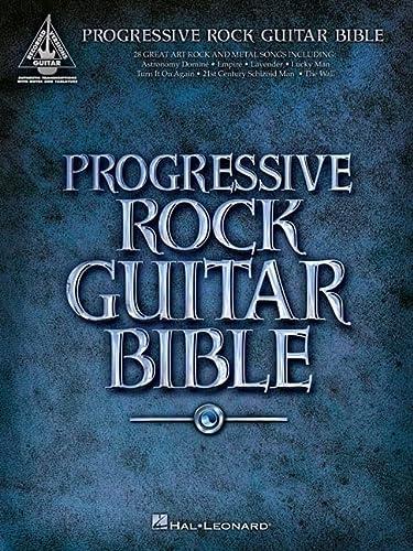 9780634061196: Progressive Rock Guitar Bible
