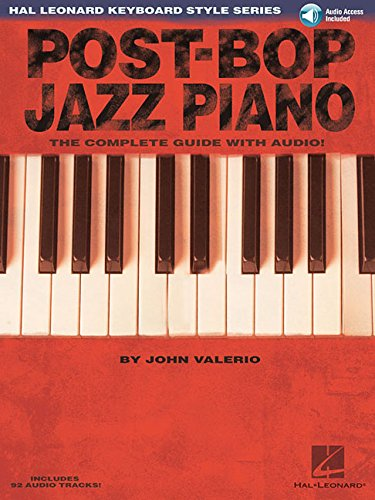9780634061233: Post-Bop Jazz Piano - The Complete Guide with Online Audio!: Hal Leonard Keyboard Style Series