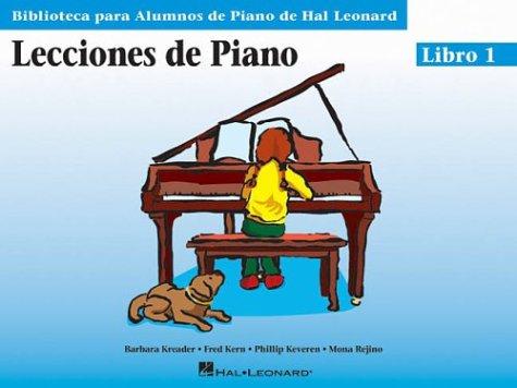 9780634061271: SPANISH PIANO LESSONS BOOK 1 (Biblioteca Para Alumnos De Piano / Library for Piano Students)