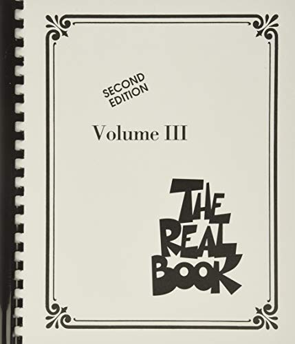 9780634061363: The Real Book - Volume III: C Instruments
