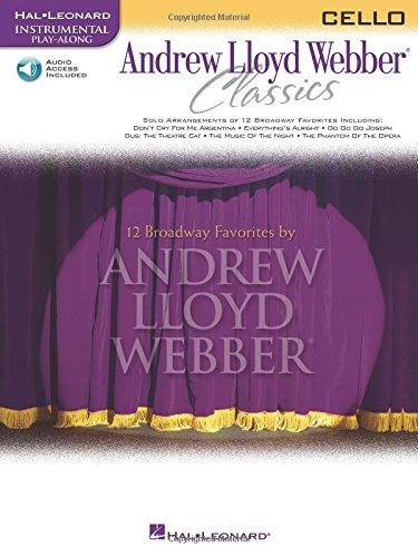 9780634061639: Andrew Lloyd Webber Classics: Cello