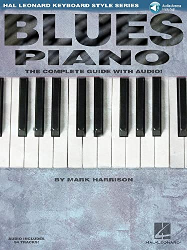 9780634061691: Blues Piano: Hal Leonard Keyboard Style Series (Keyboard Instruction) Bk/online audio