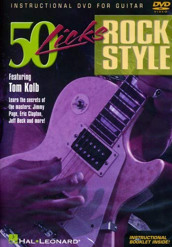 9780634061721: Tom Kolb - 50 Licks Rock Style [Alemania] [DVD]