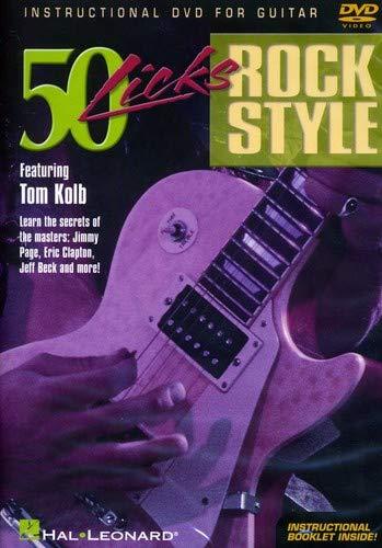 9780634061721: QUANTUM LEAP 50 Licks Rock Style Guitar [DVD]