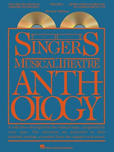 9780634061820: The Singer's Musical Theatre Anthology - Volume 1: Mezzo-Soprano/Belter Accompaniment CDs (Vocal Collection)
