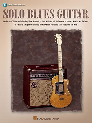 9780634061912: Solo Blues Guitar (Guitar Collection) Book & Online Audio