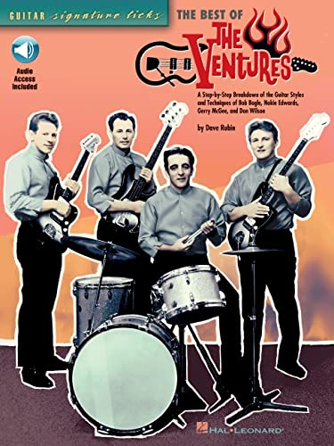9780634061950: The Best of the Ventures (Guitar Signature Licks)