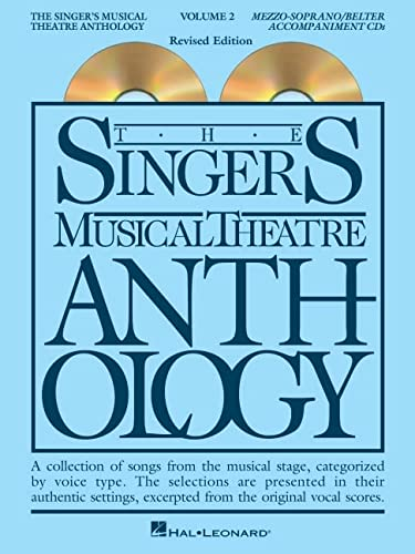 9780634062018: The Singer's Musical Theatre Anthology - Volume 2: Mezzo-Soprano Accompaniment CDs (Singer's Musical Theatre Anthology (Accompaniment))