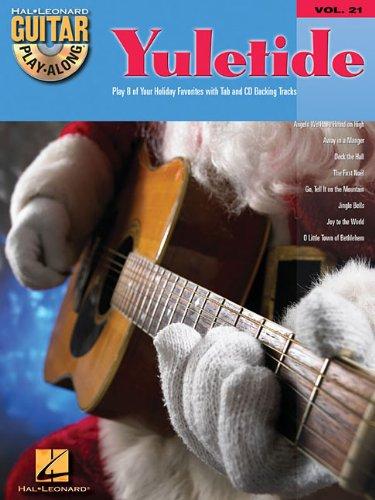 Yuletide Guitar Play-Along Volume 21 BK/CD (Hal Leonard Guitar Play-Along)
