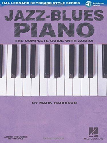 9780634062247: Jazz Blues Piano (Hal Leonard Keyboard Style Series)
