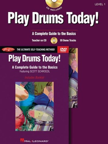 9780634062445: Play Drums Today Beginner's Pack (Includes Book/CD/DVD) - Proline Custom Version