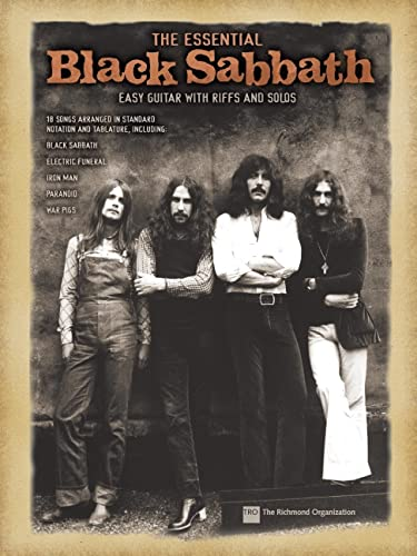 9780634062513: The Essential Black Sabbath: Easy Guitar with Riffs and Solos