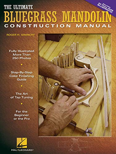 9780634062858: The Ultimate Bluegrass Mandolin Construction Manual