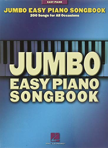 9780634062889: Jumbo Easy Piano Songbook: 200 Songs for All Occasions