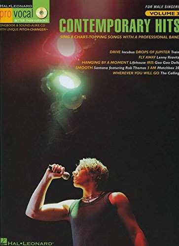 Contemporary Hits Vol. 3 Bk/CD Pro Vocal: Hal Leonard Corp.