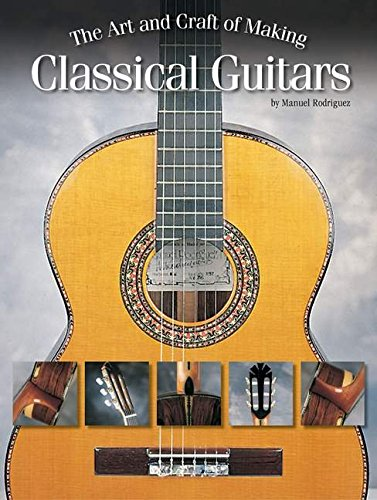 9780634063138: The Art and Craft of Making Classical Guitars