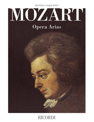 9780634063176: Mozart Opera Arias: Mezzo-Soprano