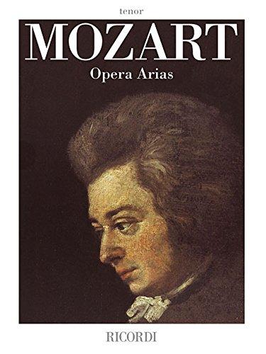 9780634063183: Mozart Opera Arias: Tenor