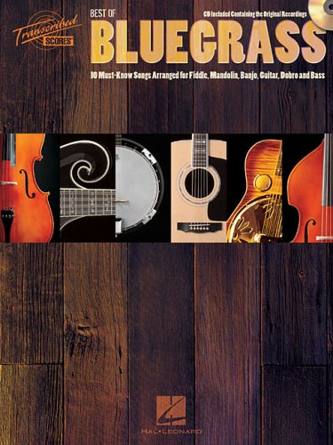 9780634064135: Best of Bluegrass: 10 Must-Know Songs Arranged for Fiddle, Mandolin, Banjo, Guitar, Dobro and Bass