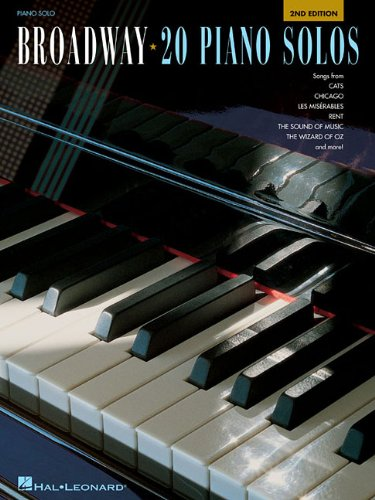 Broadway - 20 Piano Solos (Piano Solo Songbook)