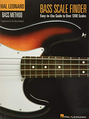 9780634064340: Bass Scale Finder: Easy-to-Use Guide to Over 1,300 Scales 9 inch. x 12 inch. Edition (Hal Leonard Bass Method)