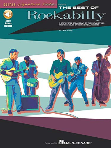 9780634064548: Best of Rockabilly a Step by Step Breakdown of the Guitar Styles and Techniques of the Rockabilly Greats