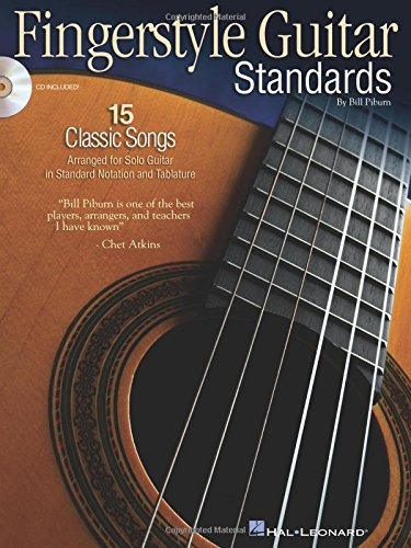 Fingerstyle Guitar Standards Bk/Aud: Piburn, Bill
