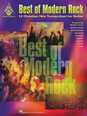 9780634064845: Best of Modern Rock: 12 Christian Hits Transcribed for Guitar