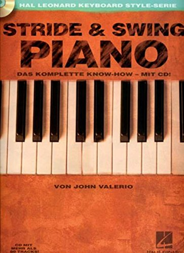 9780634065064: German- Stride and Swing Piano