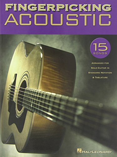 9780634065378: Fingerpicking Acoustic: 15 Songs Arranged for Solo Guitar in Standard Notation & Tab