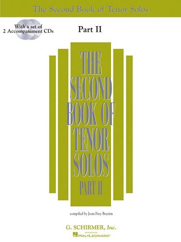 9780634065705: The Second Book of Tenor Solos Part II: Book/2 CDs Pack