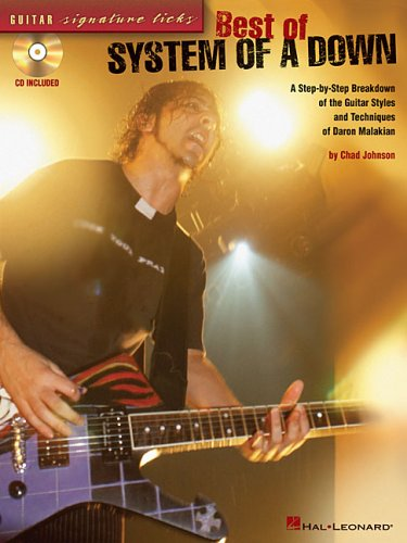 9780634065835: Best of System of a Down: A Step-by-Step Breakdown of the Guitar Styles and Techniques of Daron Malakian