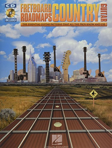 9780634066054: Fretboard Roadmaps - Country Guitar: The Essential Guitar Patterns That All the Pros Know And Use