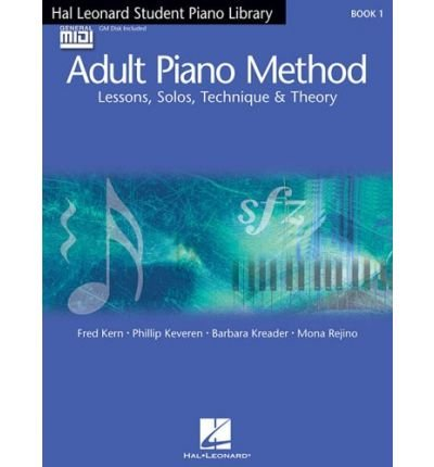 9780634066252: Hal Leonard Student Piano Library Adult Piano Method, Book 1