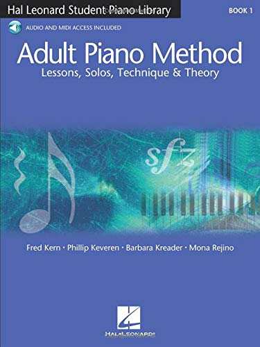 9780634066269: Adult Piano Method - Book 1: Lessons, Solos, Technique, & Theory (Student Piano Library)