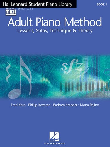 Hal Leonard Student Piano Library Adult Piano Method - Book/GM Disk Pack: Book 1 - GM Disk: Fred ...