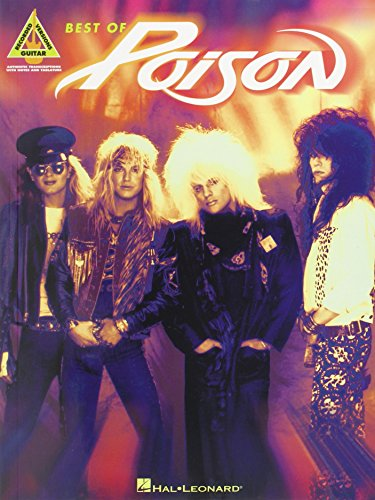 9780634066573: POISON BEST OF (Guitar Recorded Versions)