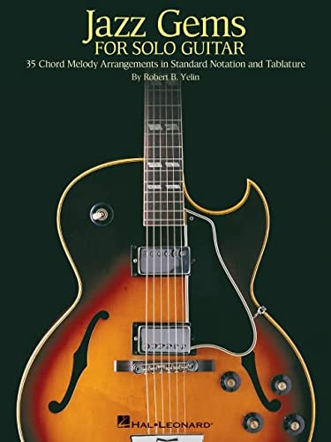 9780634066672: Jazz Gems for Solo Guitar: 35 Chord Melody Arrangements in Standard Notation And Tablature