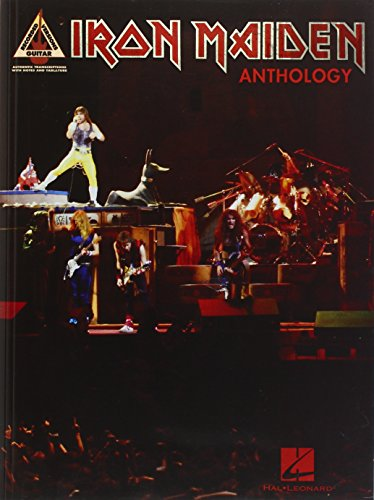 9780634066900: Iron Maiden Anthology (Guitar Recorded Versions)