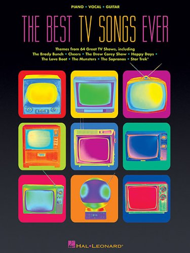 9780634066979: The Best TV Songs Ever