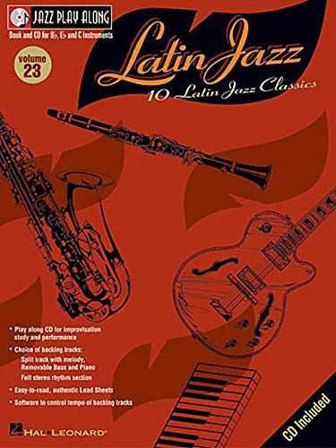 9780634067136: Latin Jazz Clarinette +CD: 23 (Jazz Play Along, 23)