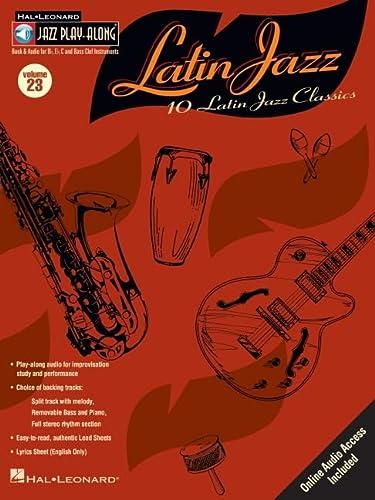 9780634067136: LATIN JAZZ BK/CD JPA VOL.23 (Jazz Play Along, 23)